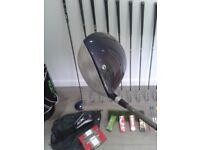 FULL SET NICE CLEAN LADIES MITSUSHIBA GOLF CLUBS + LOVELY DUNLOP NZ9 GOLF BAG + FREE see description