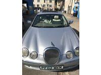 Jaguar, S-TYPE, Saloon, 2002, Automatic, 3996 (cc), 4 doors