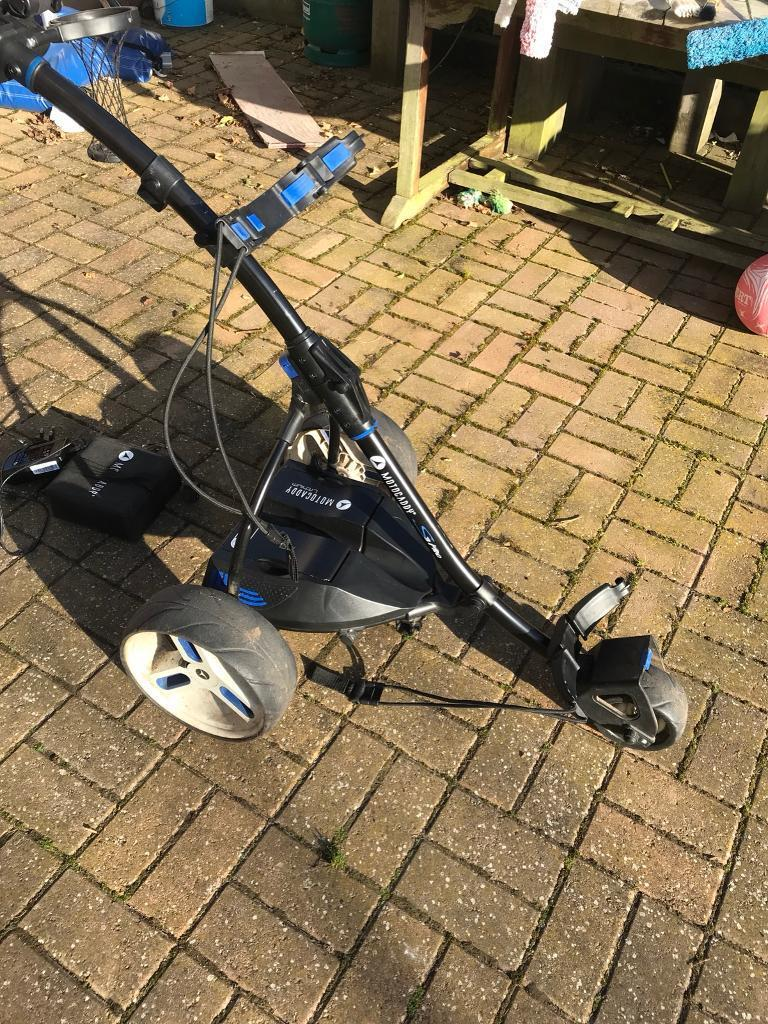 Motocaddy S3 Pro Electric Golf Troller