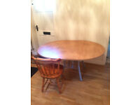 Extending Dining Table No Chairs