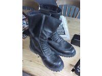 motorbike boots size 4