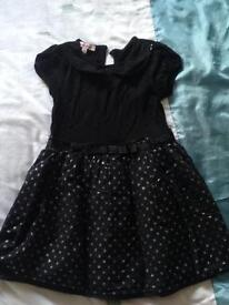 Girls party dress aged 2-3 years