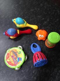 Music / Noise toys rattles