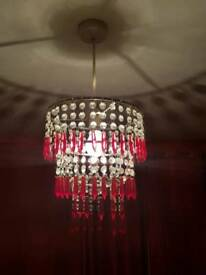 Decorative Red lamp shade