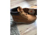 Men's BlackCharcoal Timberland Boots UK Size 9.5 | in Alfreton, Derbyshire | Gumtree