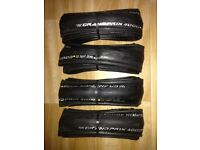 Set of 4 New Continental Grand Prix 4000s tyres