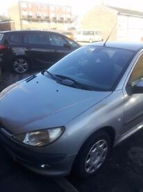 Peugeot 206 - Silver
