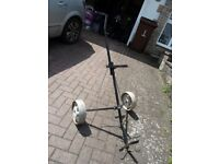 Collapsible Golf Trolley Used