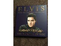 ELVIS PRESLEY DELUXE VINYL AND CD SET
