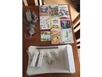 Nintendo WII plus games and extras (see photos)