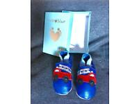 Inch blue baby shoes BNIB