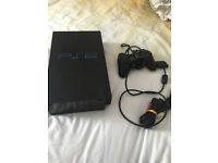 PS2 Console For Parts does work with faults