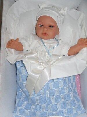 Puppen & Zubehör Traumdolls Antonio Juan Pflegekörbchen blau mit viel Zubehör