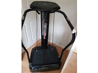 Crazy Fit Massage Vibration Machine - 12 months old, hardly used.
