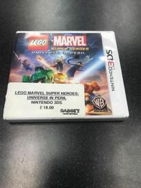 Lego Marvel Super Heroes, Universe in peril. Nintendo 3DS GAME 0203 556 6824