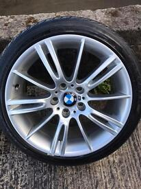 BMW 3 series M Performance wheels and Tyres MV3