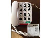 Opticom B300 big buttons telephone