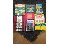 Learn to speak German books