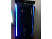 Gaming PC AMD Phenom 9650 Quad Core 4GB 2.3Ghz 64x 8200 Nvidia in Galaxy 3 Case