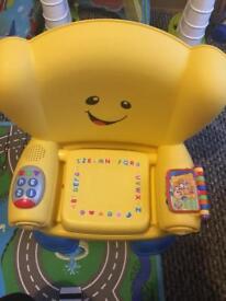 Like new fisher price yellow chair