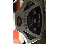 Vibration Plate, hardly used! Just a little dusty from storage. RRP £250