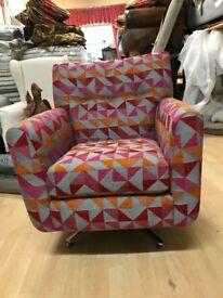 New ex Display swivel chair