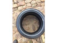 Corsa tyres x2 part worn in vgc 265/35/ZR 18