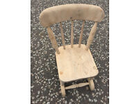 Collection of kid's chairs £40 each..in 3 different styles feel free to view free local delivery..