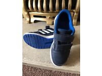 Boys Adidas trainers size 12