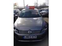 VW PASSAT 2.0 TDI HIGHLINE 140 63-2013 REG SATNAV - LEATHER - PARKING SENSOR