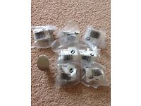 8 cabinet cupboard knobs handles new in packets