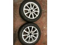 2x Honda Civic alloy wheels