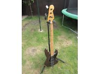 Fender 1991 Jazz Bass (Made in Japan) with Active Electronics and Hard Case