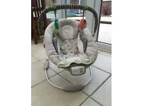 Comfort and Harmony baby bouncer - excellent condition