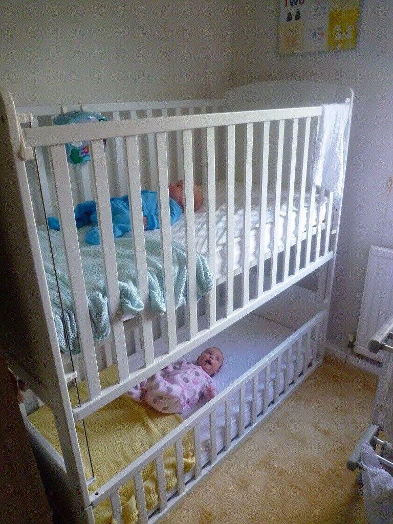 Convertible Double Cot Bunk Bed Shanticot