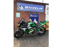 Kawasaki ninja Zx6r b1h 636 mss racing bike