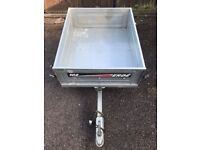 EDRE 102 Car Tipping Trailer with Cover