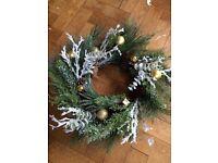 5x Xmas wreaths