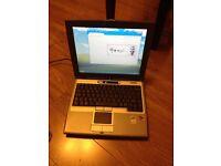 "Laptop/Netbook for Sale - DELL Latitude D400 -12"" WIFI Windows XP"