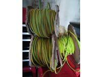 10mm earth cable hundreds of feet.