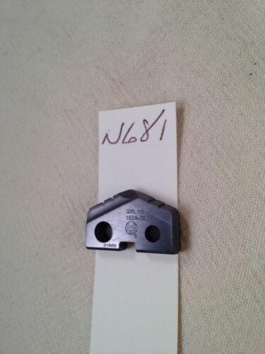 1 NEW 26.15 MM ALLIED SPADE DRILL INSERT BIT AMEC. 152A-HI USA MADE. T (N681)