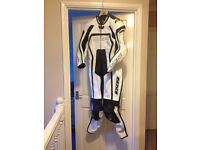 IXS Womens Albacete One Piece Motorcycle leathers Size 12