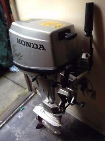 HONDA 15HP 4STROKE OUTBOARD ENGINE