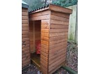 D GOOCH shed and fence ex display , damaged , weathered clearance QUICK LOOK !!!!!!!!!!!!!!!!