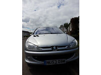 Peugeot 206 SW Quicksilver Limited Edition 1 Year MOT!