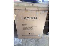 Lamona Stainless Steel Splashback - Boxed