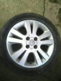 Corsa alloy wheel