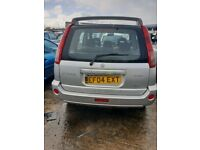 04 NISSAN X-TRAIL SPORT 2.2 DIESEL breaking for parts only all parts available postage nationwide