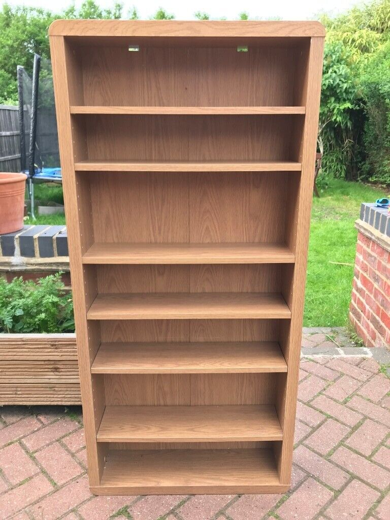 Modern Slim Bookcases Shelving Units Cd Dvd Stand Great Condition In Normandy Surrey Gumtree