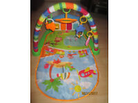 BABYS KICK AND PLAY MAT